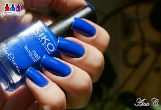 Kiko, electric blue, azul elétrico, kiko 336