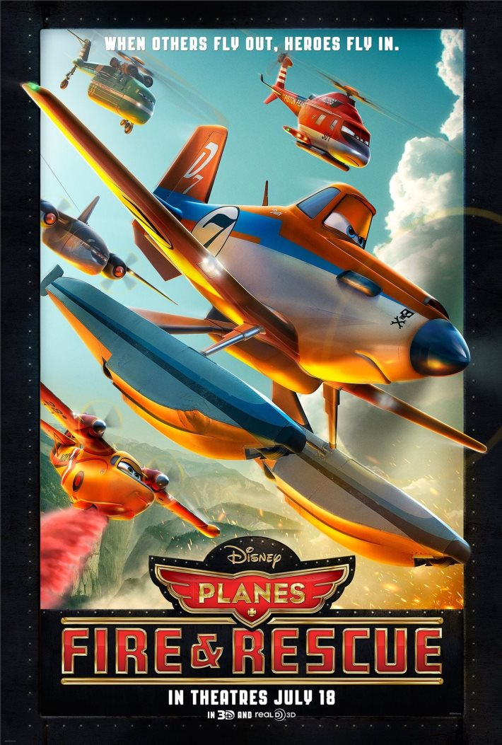 Poster: Planes Fire & Rescue
