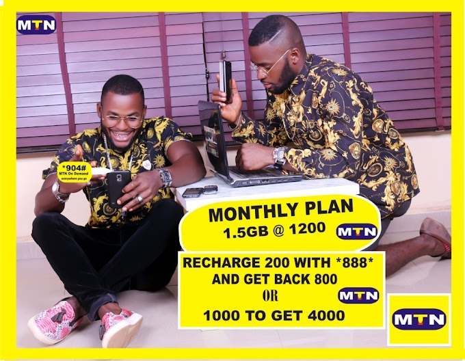 PETER AND PAUL (P.FIGURE) NEW AMBASSADOR IN MTN
