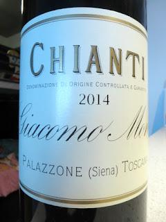 Giacomo Mori Chianti 2014 (90 pts)