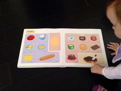 Mon grand imagier à toucher - Editions MILAN JEUNESSE - A table!