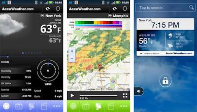 Aplikasi Ramalan Cuaca Terbaik Android Tahun 2017!