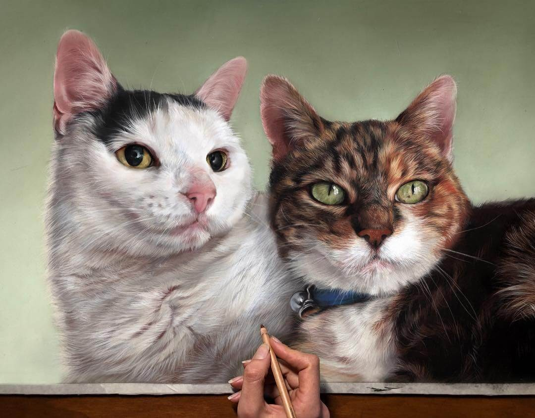 05-Victor-and-Jazz-Patricia-Otero-Cats-and-Dogs-Portrait-Artist-www-designstack-co