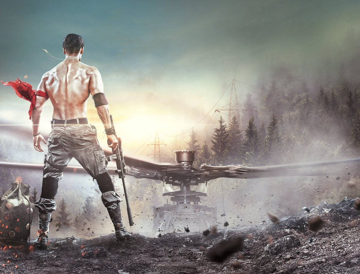 Tiger Shroff Wallpapers HD Download Free 1080p Colorfullhdwallpapers : Upcoming Latest Bollywood ...
