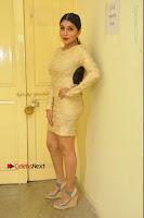 Actress Pooja Roshan Stills in Golden Short Dress at Box Movie Audio Launch  0028.JPG