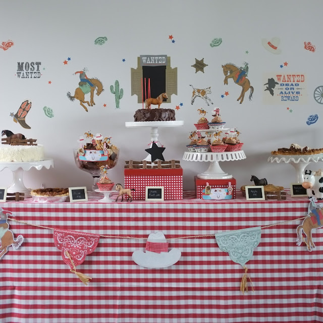 GOOD PLAN - Cowboy Party Dessert Table