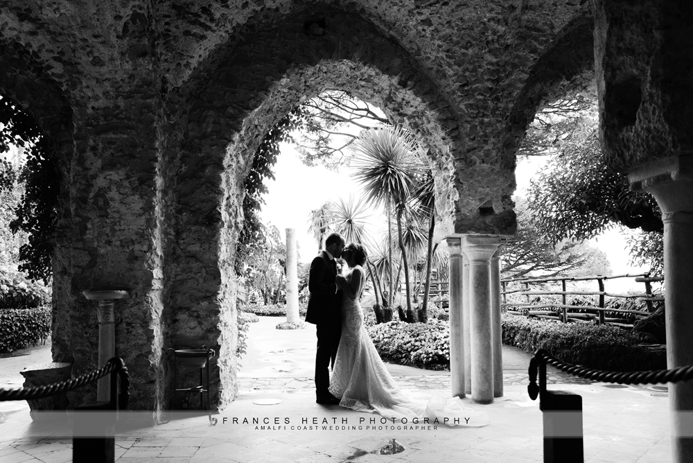 Ravello garden wedding