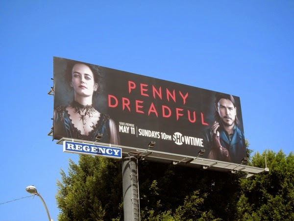 Penny Dreadful season 1 billboard