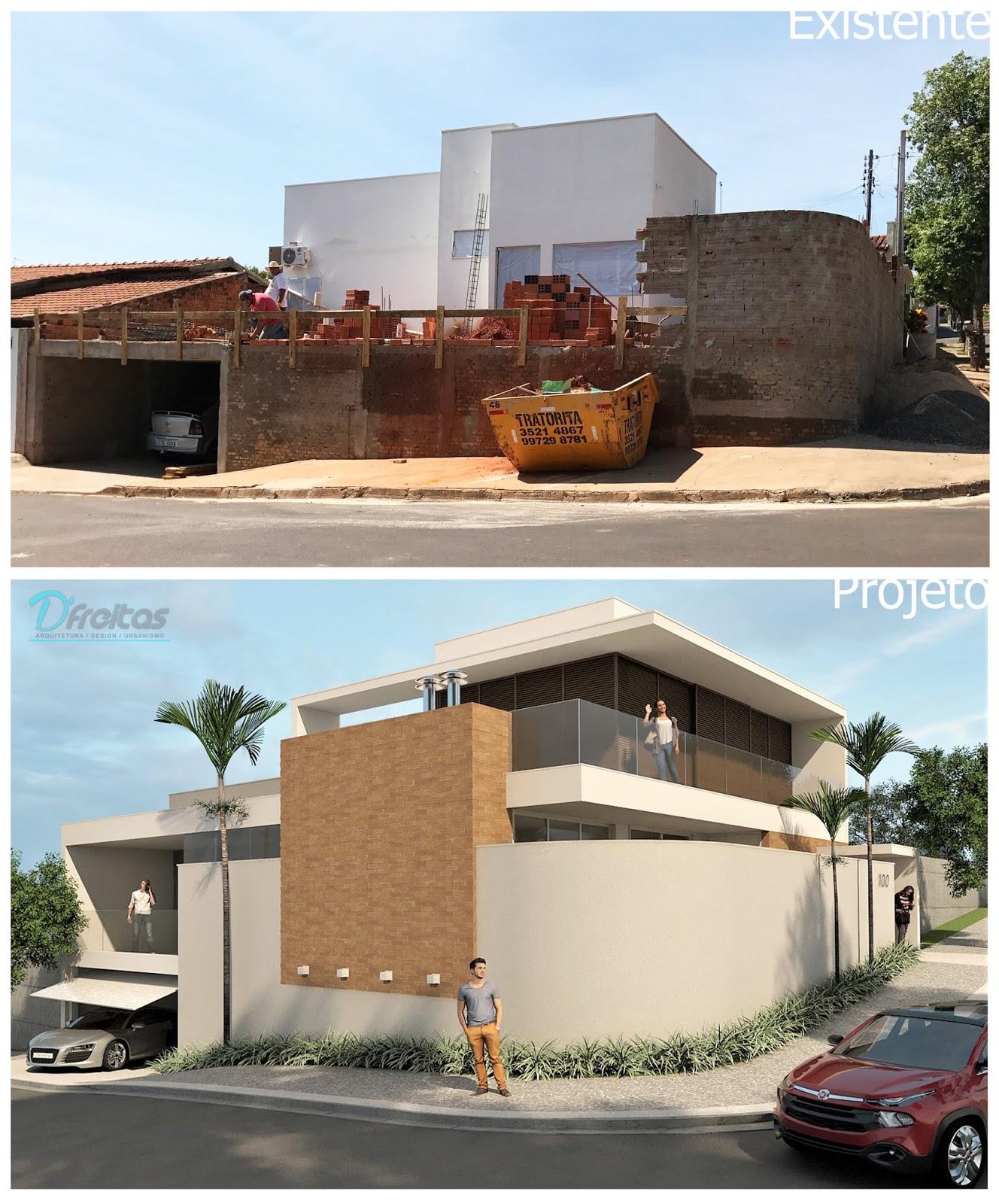 e5552c4d6b20d Projeto Arquitetônico - Ampliação. Existente Residencial Itapuã. Postado  por Arq. Thiago de Freitas ...