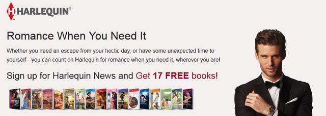 Romance When You Need It from Harlequin Books