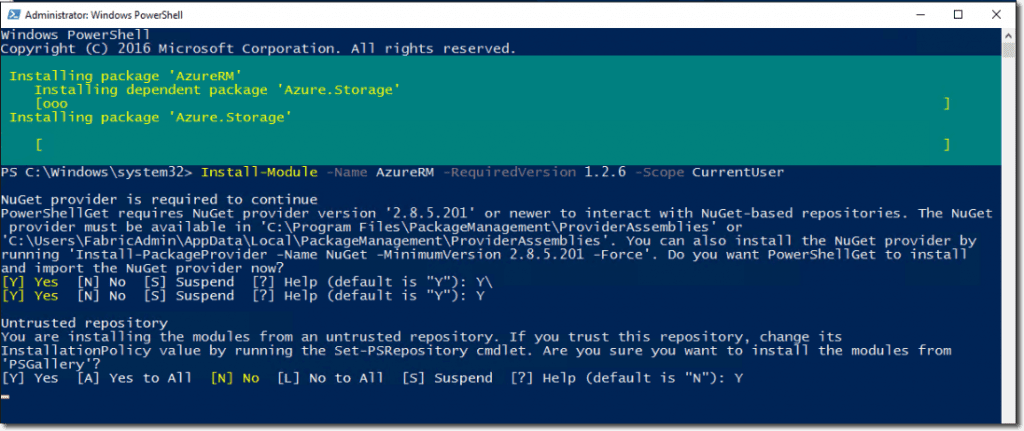 How to Install and configure PowerShell for Azure Stack - TECHSUPPORT