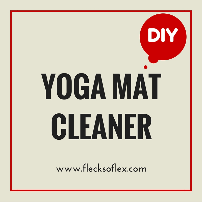 diy yoga mat cleaner flecks of lex. Black Bedroom Furniture Sets. Home Design Ideas