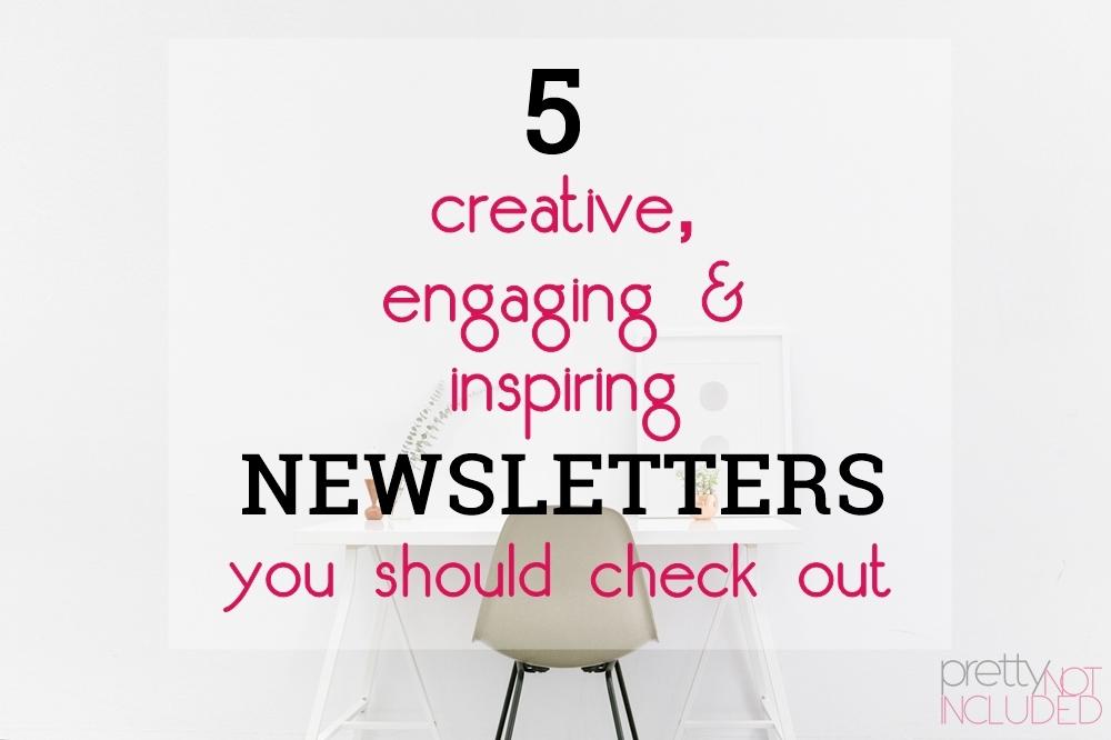 newsletters, creatives, entrepreneurs, small biz, melyssa griffin, jen carrington, yoga, zen habits