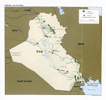 Iraq Oil Fields Map