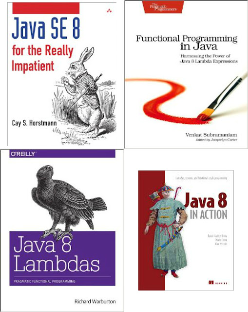 5 Good Books to Learn Java 8 Functional Programming