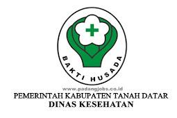 Lowongan Kerja Dinas Kesehatan Kab. Tanah Datar Tahun 2019