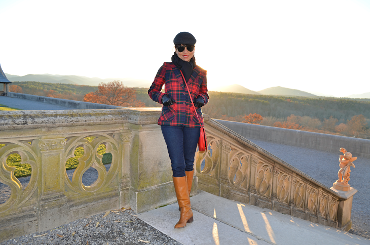 Tartan pattern fashion
