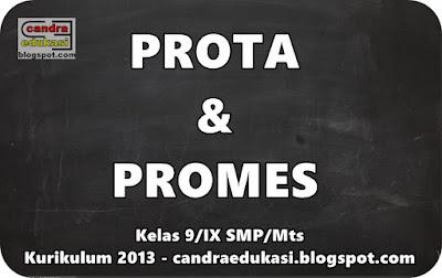 di blog edukasi yang sangat super sederhana ini Prota Dan Promes Kelas 9 Kurikulum 2013 Lengkap Semua Mapel