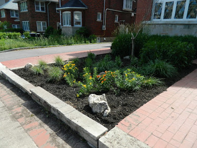 Toronto Midtown Front Garden Cleanup After by Paul Jung Gardening Services Inc.--a Toronto Gardening Company