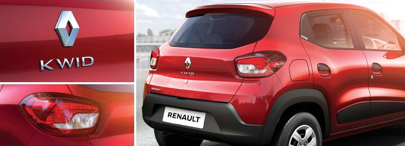Renault kwid belakang