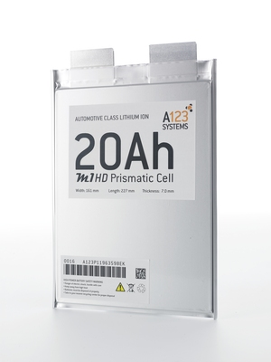 A123 Systems Introduces Breakthrough Lithium Ion Battery Technology