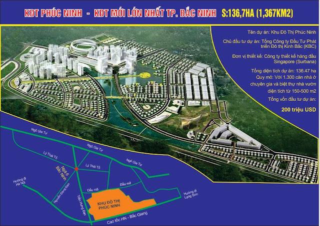 Dự án Khu đô thị mới Phúc Ninh