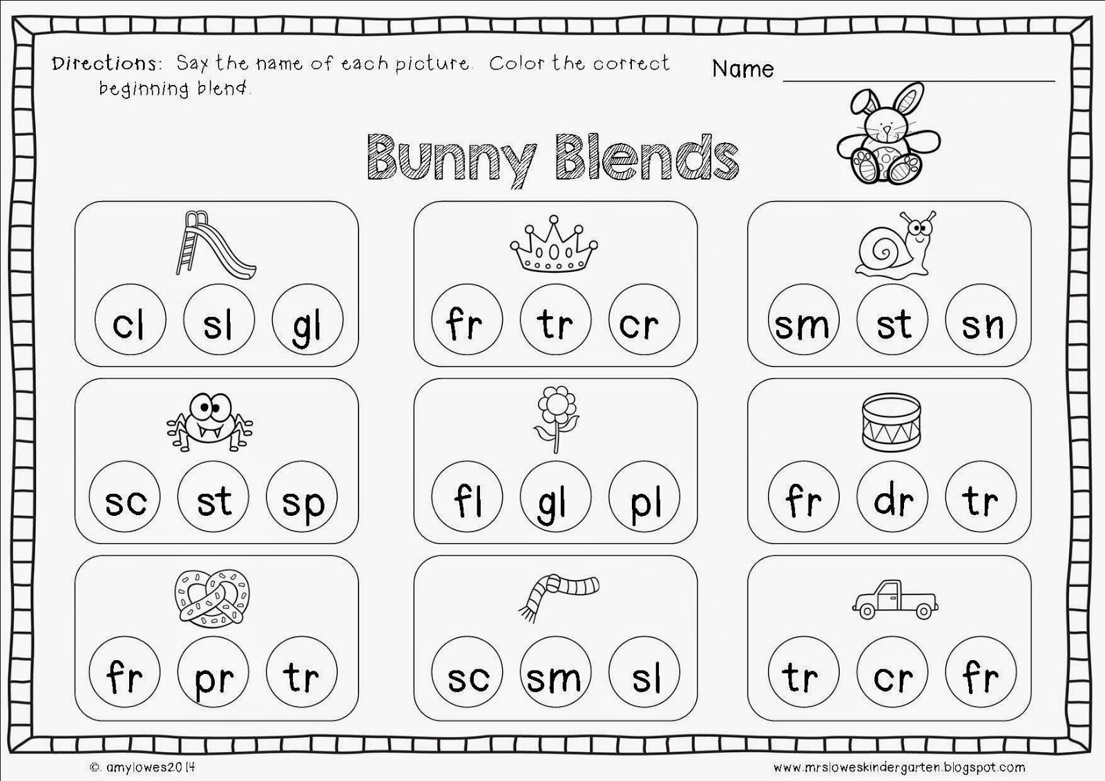 Mrs. Lowes' Kindergarten Korner: No Prep Easter Math and ...