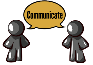 communication in facebook page marketing image