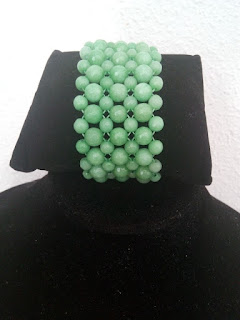 Pulsera ágata verde