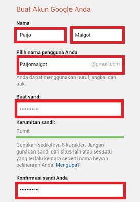 Cara Membuat Email di Google | Contoh Email Lengkap Dengan Gambar