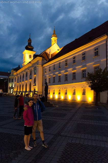 Sibiu si lumini. O destinatie romantica.