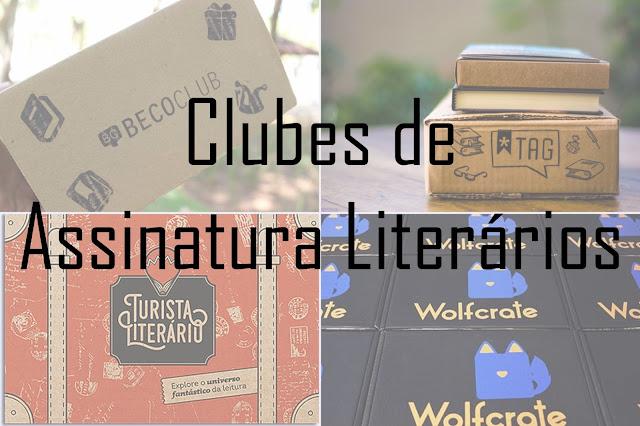 Clube de Assinatura literários