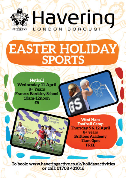 Clockhouse Primary School: More things to do in the Easter