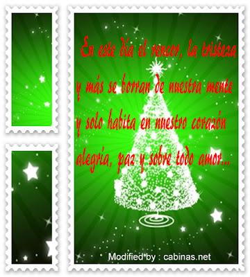 Bonitas frases para enviar en Navidad