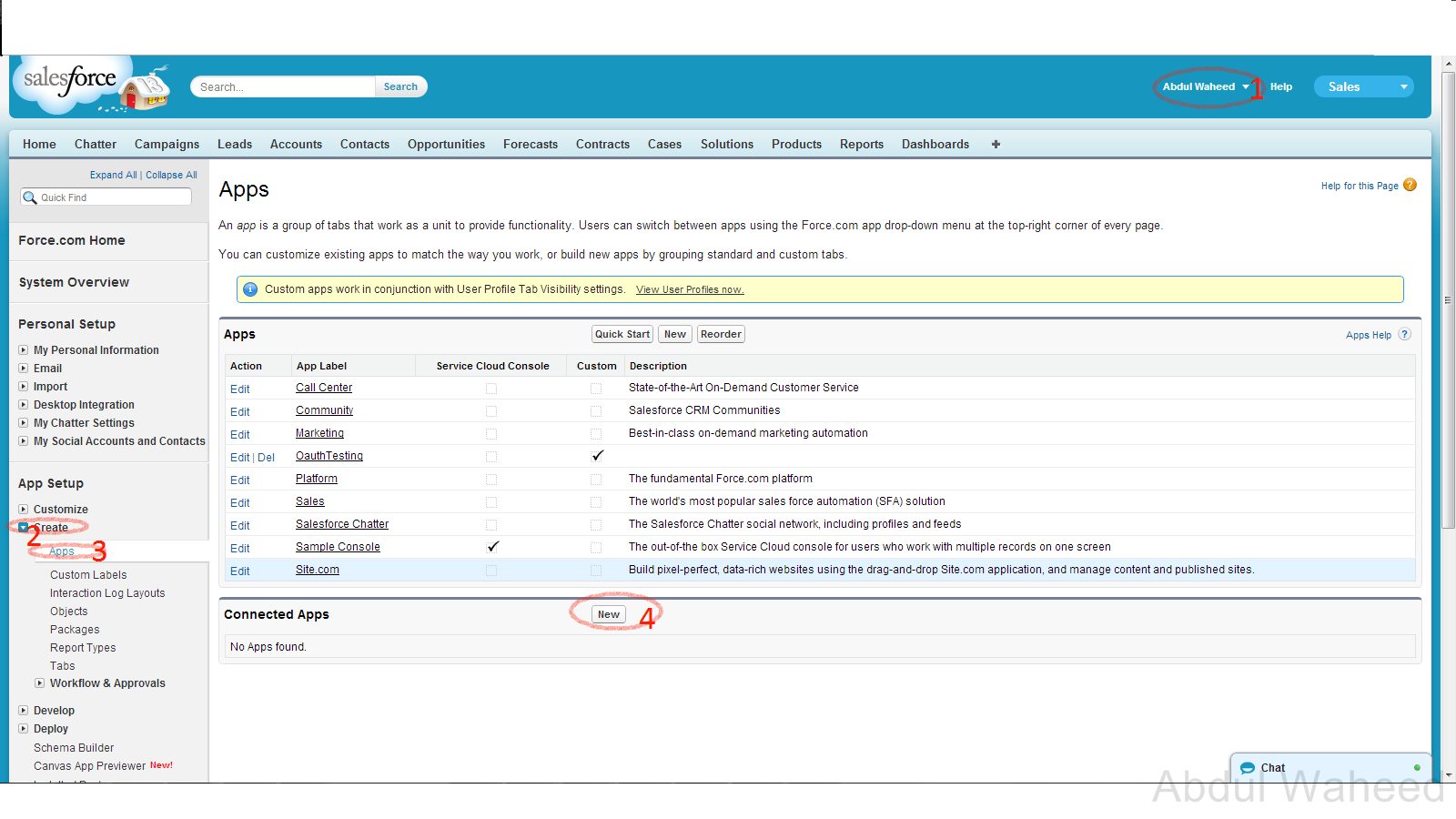 Salesforce: Tech Blog: How To Create Remote Access Application On