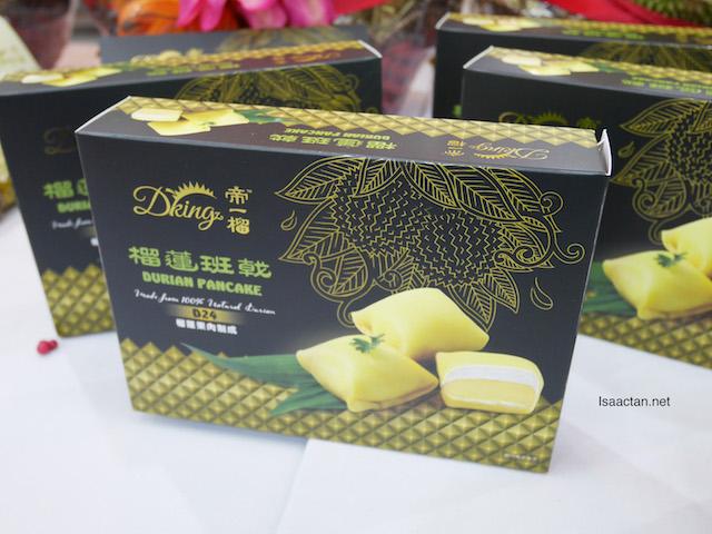 Delicious Durian Pancake