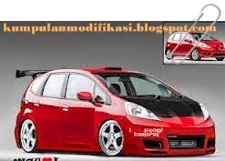 Modifikasi Honda Jazz Super Ceper