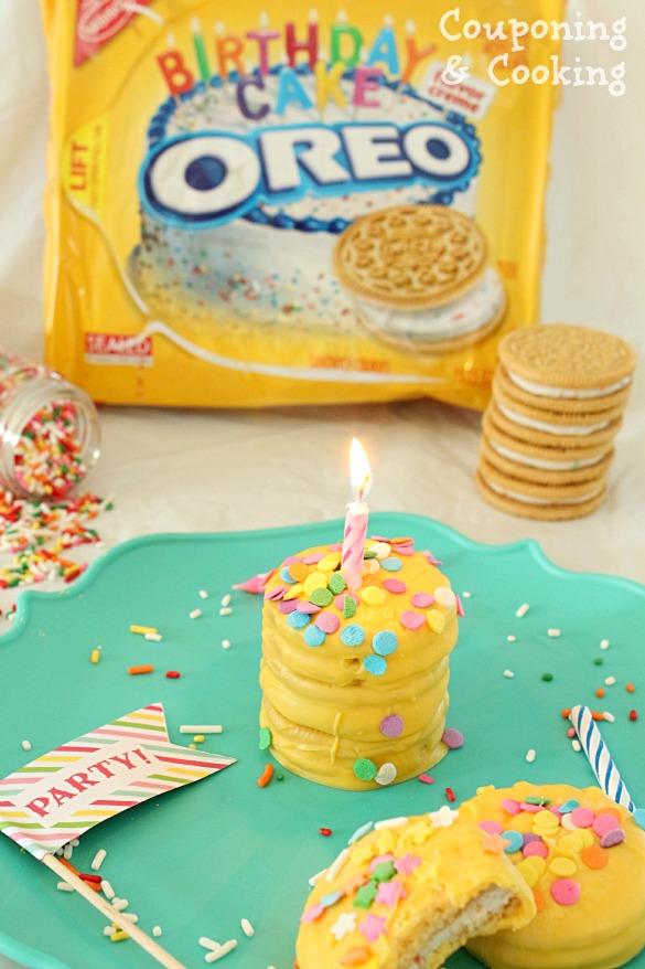 Tobins Tastes Bite Sized Birthday Cakes Made With Golden Birthday