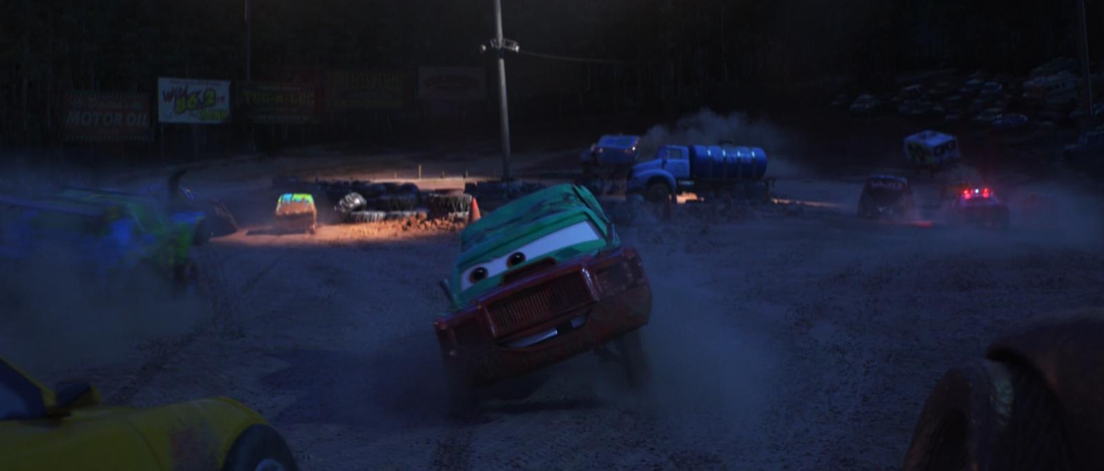 pixar cars 3 pileup diecast