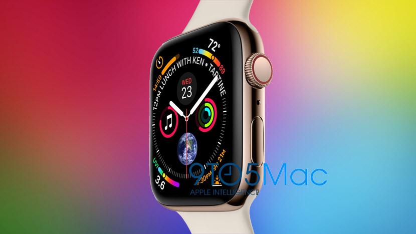 الجيل الرابع من ساعة آبل واتش Apple Watch Series 4