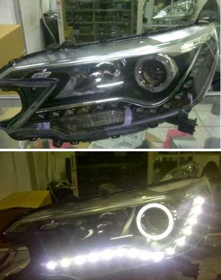 Aksesoris Honda All New CRV -Head Lamp Audi Style