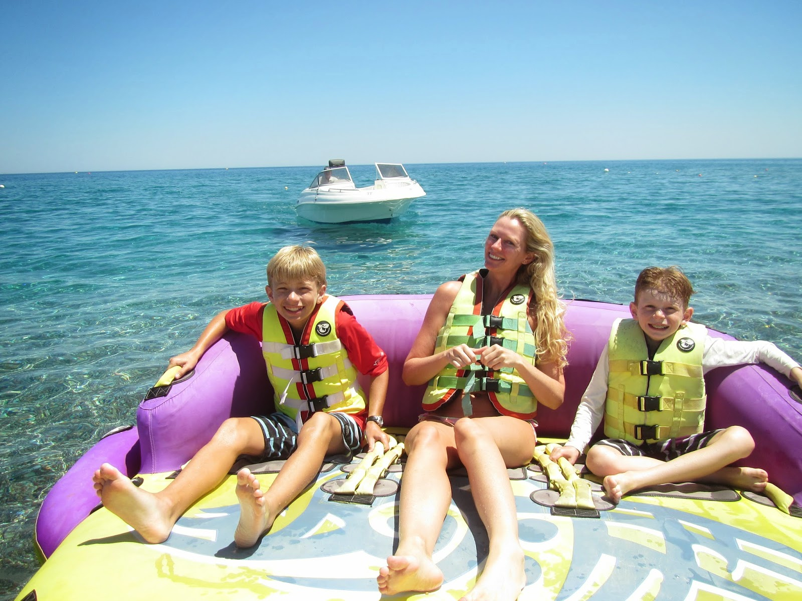 Crazy Sofa Ride Jackknife Hardware Around The World With Flahertys When We Got Back To Beach Took A Is An Inflatable Lounge Chair That Seats Three People You Hook Up Behind