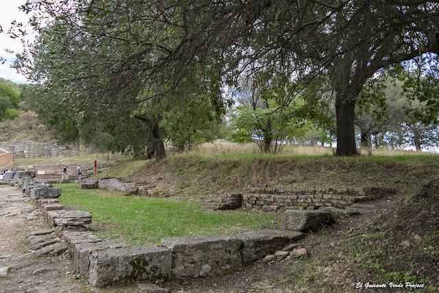 Tiendas - Apolonia de Iliria, Albania por El Guisante Verde Project