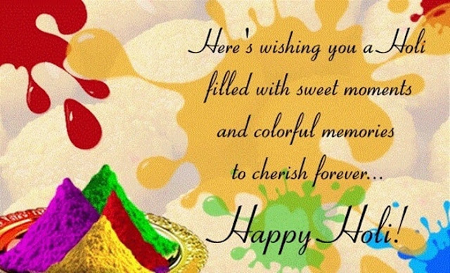 happy holi advance wallpaper