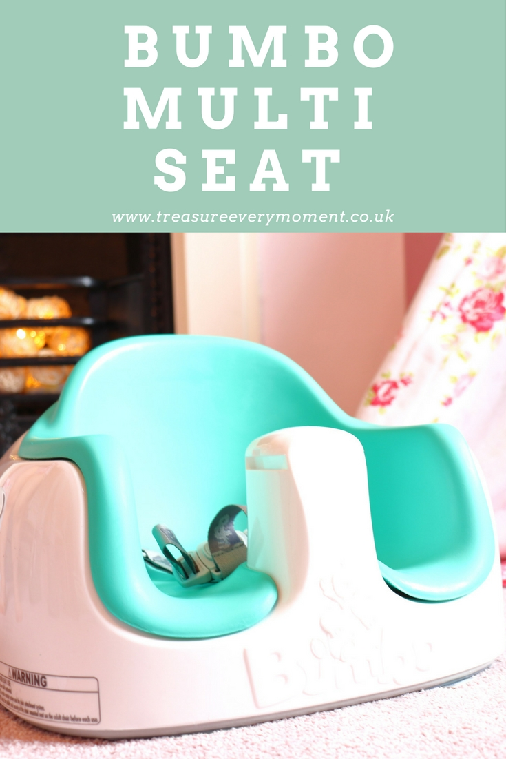 Honest Blue Bumbo Baby Seat With Tray Other Brand New