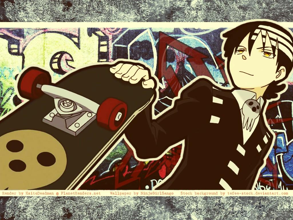 Anime Graffiti Wallpaper Mananime Ayame Soul Eater