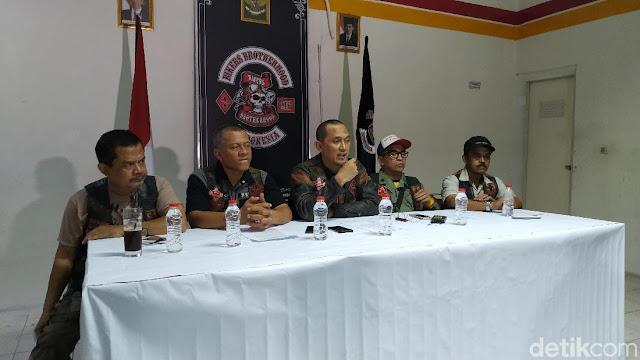 Bikers Brotherhood Bantah Deklarasi Dukung Jokowi-Ma'ruf
