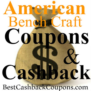 25% off American Bench Craft with today's new coupons, promo codes and cashback 2018-2019