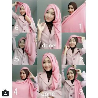 Tutorial Hijab Layer Samping untuk ke Kantor dan Kampus