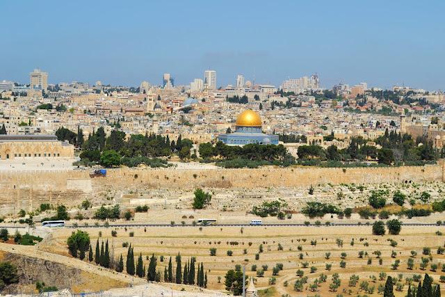 historia terra santa - jerusalem